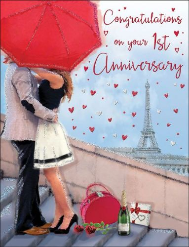 Congratulations On Your 1st Anniversary